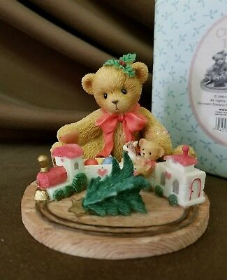 Cherished Teddies Terry Always Stay On Track About The True Meaning Of Christmas