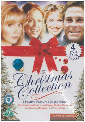 The Christmas Collection NEW PAL 4-DVD Set Rob Lowe