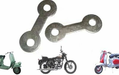 Lambretta Gp Li Sx Tv  Scooter Chain Adjuster Guide Tab Washer @de