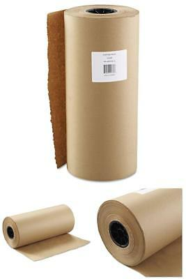 18 Inch x 900 Feet Kraft Paper Wrapping Roll Craft Supplies Brown Free Shipping