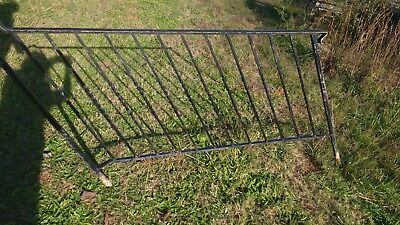 gorgeous antique vintage old wrought iron ornamental banisters rails