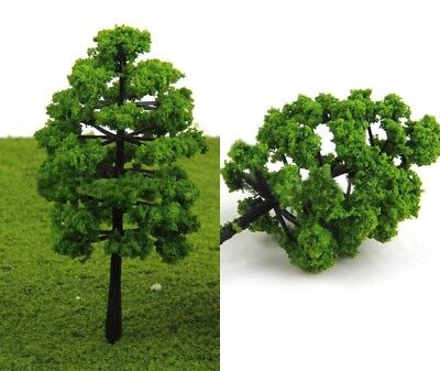 Miniature Dollhouse Fairy Garden Green Trees/Shrubs - Set of 2 - Buy 3 Save $5