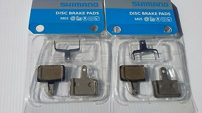2x Shimano Disc Brake Pads - Resin M05 / BR-M515 **New**