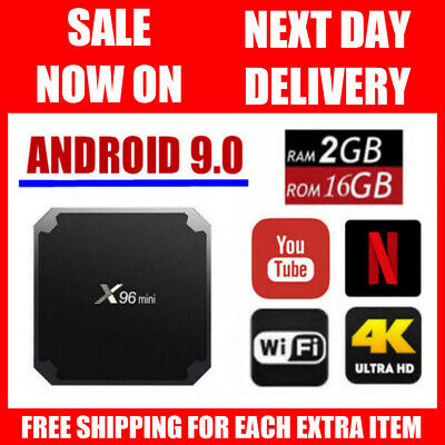 X96 Mini 2GB RAM 16GB ROM 4K WiFi Smart Android 7.1 TV Media Kodi Box Player