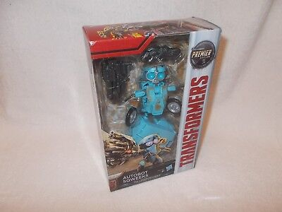 Transformers Action Figure The Last Knight Sqweeks Squeeks Premier Deluxe 6 inch