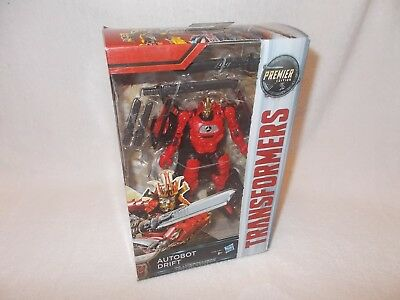 Transformers Action Figure The Last Knight Autobot Drift Premier Deluxe 6 inch