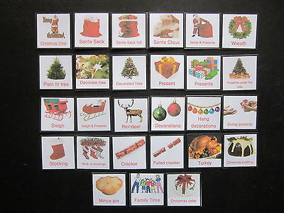 Christmas Photo Cards - Autism/PECS/Dementia/Early Yrs/Visual Aid/Timetable/SEN