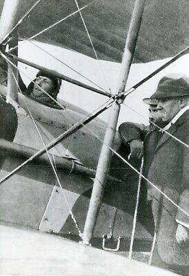 Charles Nungesser Georges Clemenceau Photo De Presse Aviation