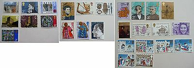 27 GB commemorative stamps 1971-1973. Used