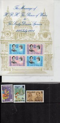 Collection Of I.o.m. Stamps 100,3,pres Packs,mini Sheet,mnh Or Mint,some H.v.