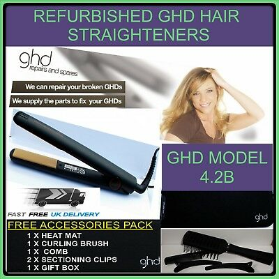 GHD Hair Straighteners Professionally Refurbished **FREE ACCESSORIES GIFT PACK**