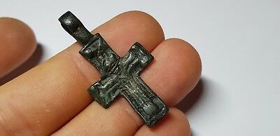 Medieval  Bronze Cross 10th,12th Century AD