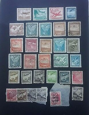 Chile Airplanes stamps mint & used