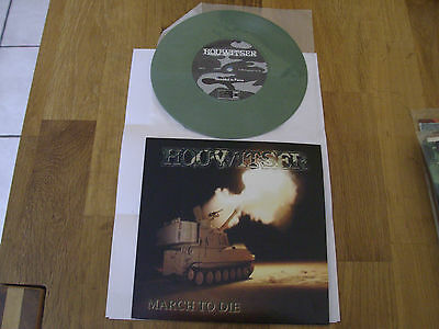 "HOUWITSER-March to Die 7""-EP SINISTER,DISMEMBER,DEEDS OF FLESH,DYING FETUS,DEATH"