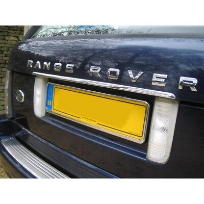 Land Range Rover L322 Chrome Rear Tailgate Trim 2002-2013 Stainless Steel