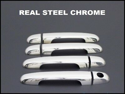 Hyundai i20 i30 Chrome Door Handle Cover Set 2008-2012 Stainless Steel