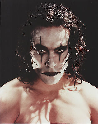"Brandon Lee ""the Crow"" 8 X 10 Photo With Ultra Pro Toploader"