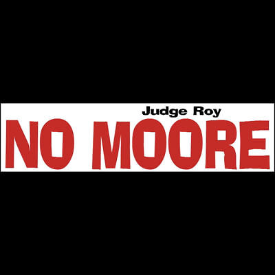 NO MOORE Bumper -  Laptop -  Window Sticker  $2.79  BUY 2 GET 1 FREE
