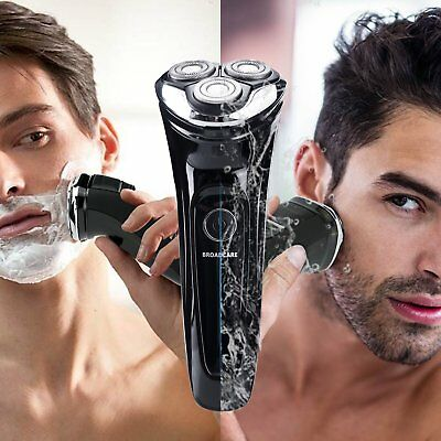 Electric Razor Wet and Dry Waterproof Men's Electric Rotary Shaver USB