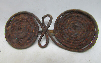 Ancient Bronze Age Or Early Iron Age Celtic Spiral Spectacle Brooch