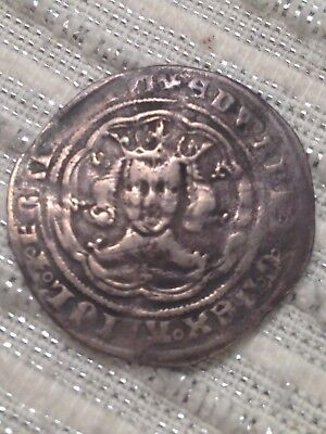 Medieval hammered coin Edward III silver groat York mint 4 pence UK 1327-1377