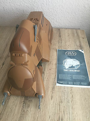 STAR WARS TRADE FEDERATION MTT HASBRO ( Multi Troop Transport ) inkl. 20 Droiden