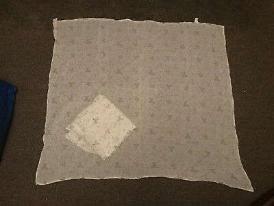 Extra Large Muslin Swaddling Squares X2