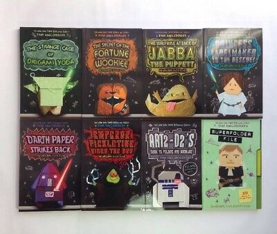 Origami Yoda Files Set 8 Childrens Chapter Book Box Set Paperback Paper NEW