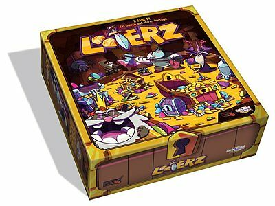 Cool Mini Or Not - LOOTERZ - Card/Dice Game ENGLISH - OVP in Folie