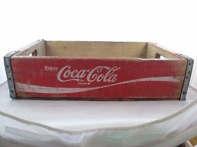 Vintage Coca-Cola Wood Soda Pop Crate