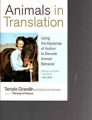 Animals In Translation Hardback Book-Autism-Temple Grandin-Nice Book-356 Pages