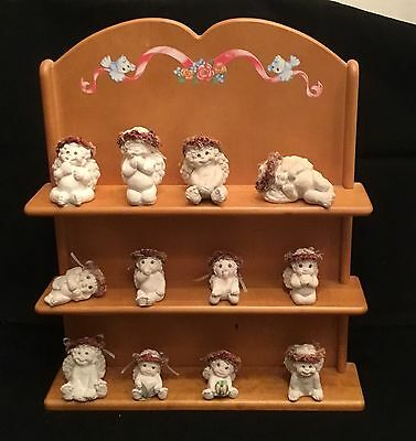 Dreamsicles Cast Art Figurine Lot Of 12 Signed By Kristin Haynes 1996