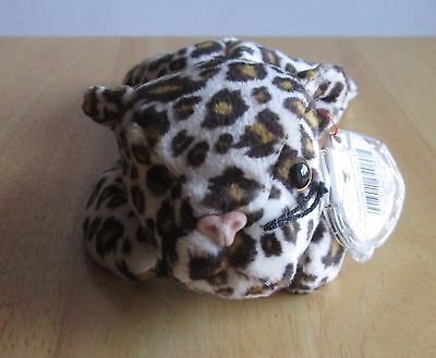 FRECKLES the LEOPARD TY Beanie Baby , Great condition