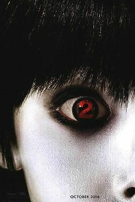 The Grudge 2 Original S/S Glossy Advance Rolled Movie Poster 27x40 NEW 2006