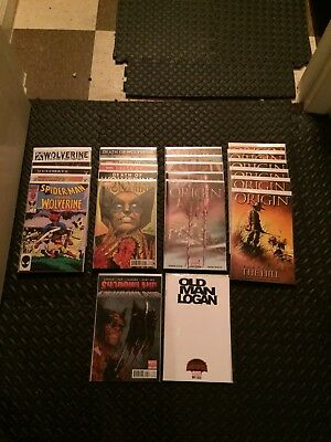 wolverine comic lot complete origins 1-6 key issues and variants all VF-NM