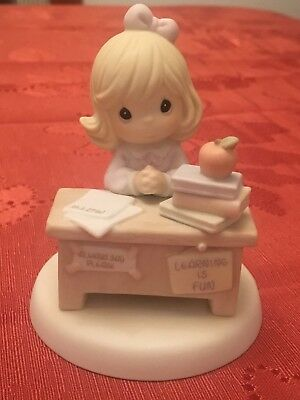 Precious Moments You're Just Perfect In My Book Teacher Figurine