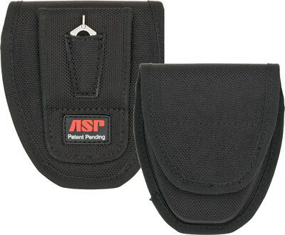 ASP Handcuffs  Black ballistic nylon construction. Fits chain and hinged handcuf