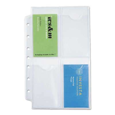 Day-Timer® Business Card Holders for Looseleaf Planners, 5 1/2 x  767199872251