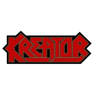 Kreator Logo Cut Out Patch Official Thrash Metal Band Merch New