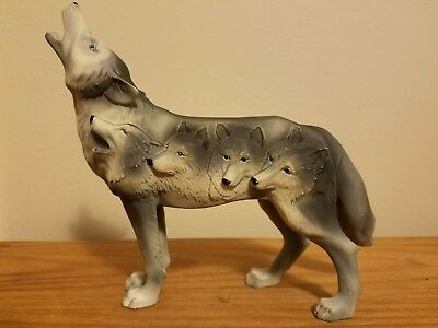 """Call of the Wolf """"Four Wolves"""" Collectible"""