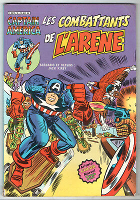 CAPTAIN AMERICA n°18 ¤ LES COMBATTANTS DE L'ARENE ¤ 1982 ARTIMA COLOR SUPER STAR