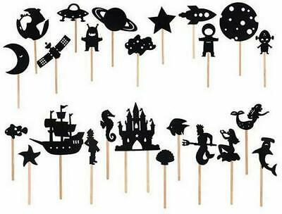 Shadow Puppets - 24 Pieces - Cayro Free Shipping!