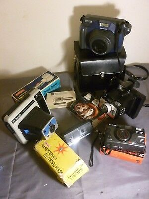 Vintage Camera / Photography Lot Polaroid Instant Etc ***pick Up Only***