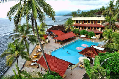 7 Night Holiday In Bali Beach Resort For 4 - Plus Free Airport  Pick Up - $149