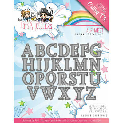 Yvonne Creations Tots & Toddlers - Alphabet YCD10096 Stanzschablone