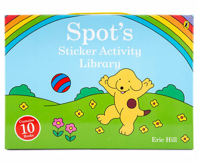 BRAND NEW: SPOT: Spot's Sticker Activity Library 10-Book Set *FREE EXP SHIPPING*