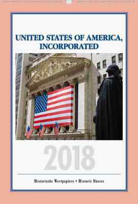 """USA Aktien Kalender 2018 """"United States Of America Incorporated"""" Brill Radio TOP"""