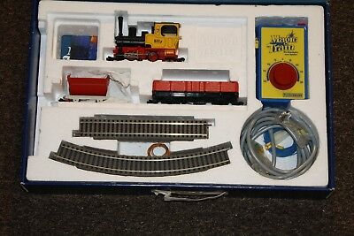 Fleischmann 0m 0 Start Set 2000 Billy Magic Train Dampflok + 2 Wagen + Schienen