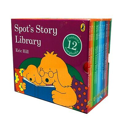 Spot's Story Library 12 Books Book Collection Box Set by Eric Hill Brand New