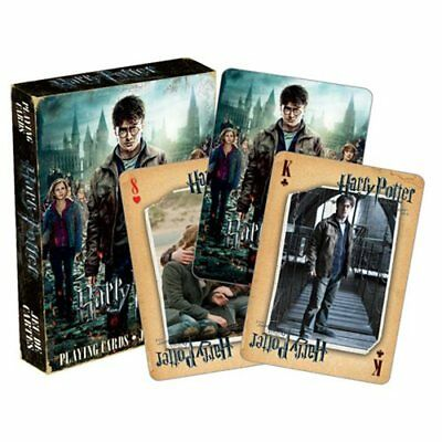 NEW Harry Potter * Deathly Hallows Part 2 Playing Cards * Movie Magic Sealed NIP